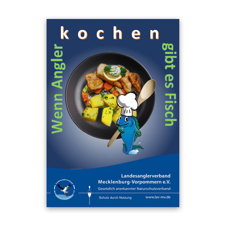 "Kochbuch ""Wenn Angler kochen, gibt es Fisch"""