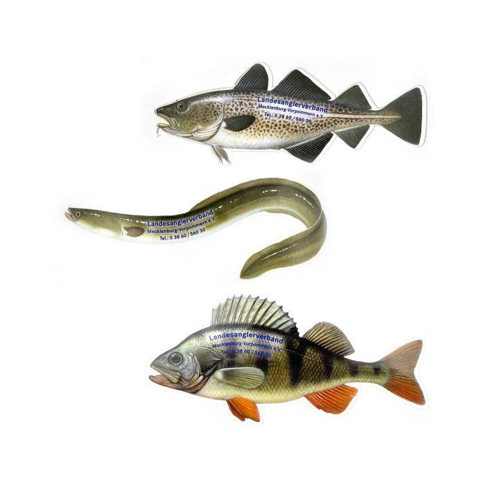 Fischaufkleber
